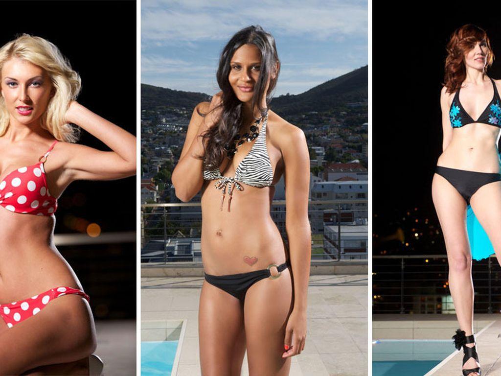Bachelor-Girls im Bikini