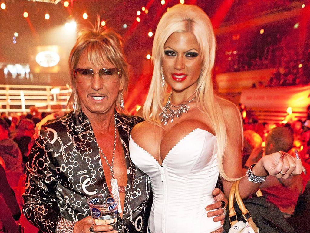Bert Wollersheim und Ehefrau Sophia beim Promiboxen