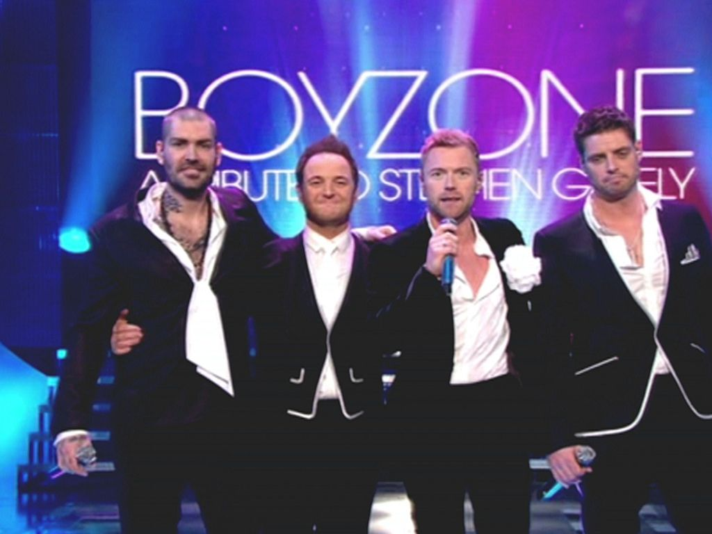 Boyzone zu viert