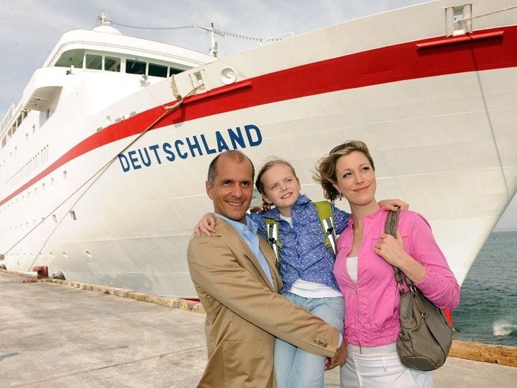 Christoph Maria Herbst auf dem Traumschiff