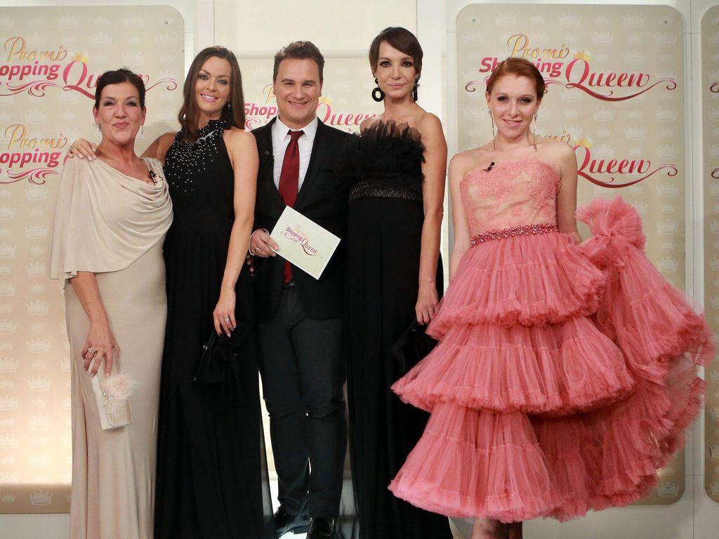 Die vier Damen bei Promi Shopping Queen