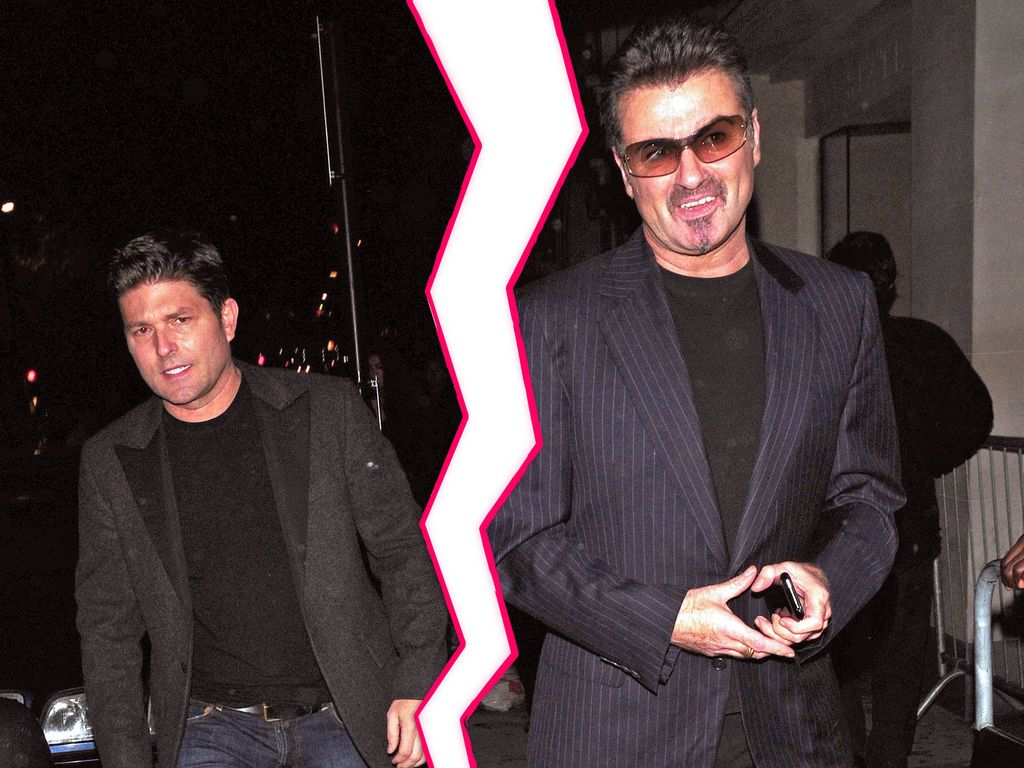 George Michael und Kenny Goss