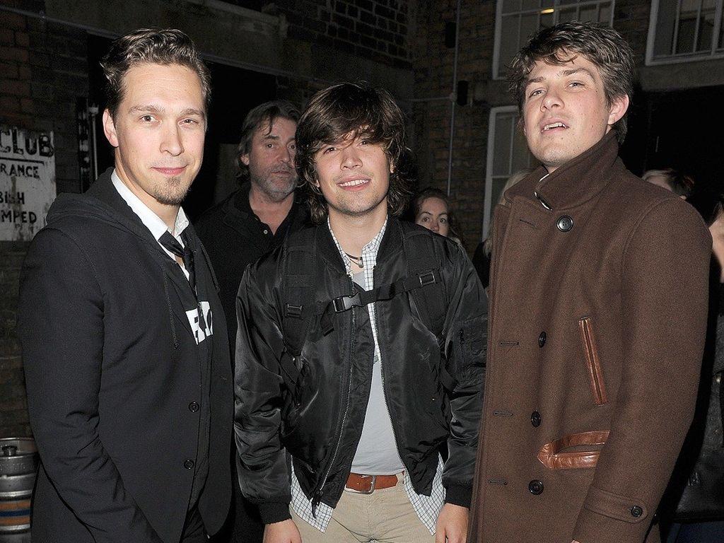 Hanson-Brüder im Jahr 2011