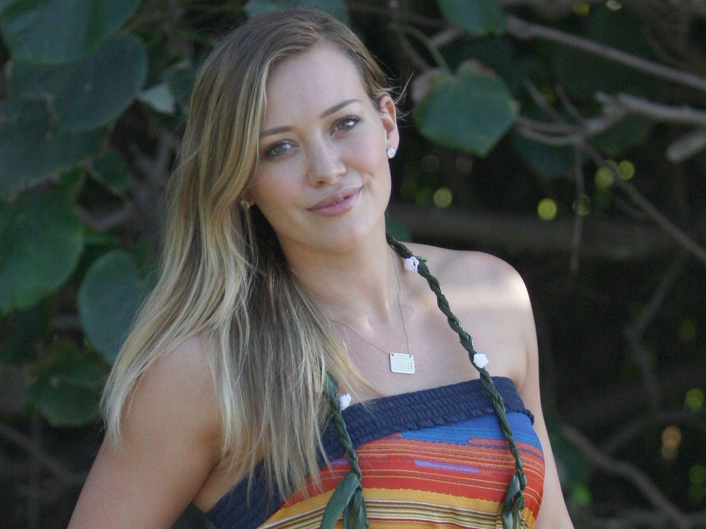 Hilary Duff im Urlaub ohne Schminke