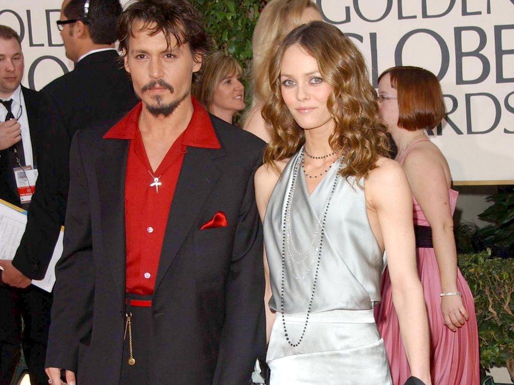 Johnny Depp und Vanessa Paradis ganz elegant