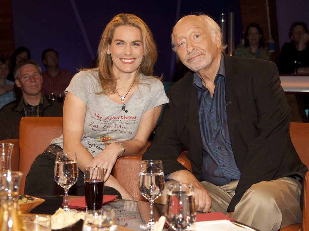 Karl Dall mit Tochter Janina