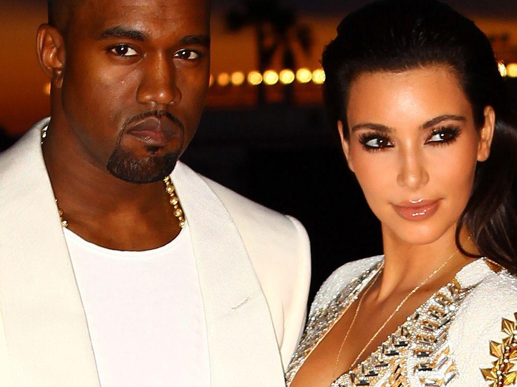 Kim Kardashian und Kayne West