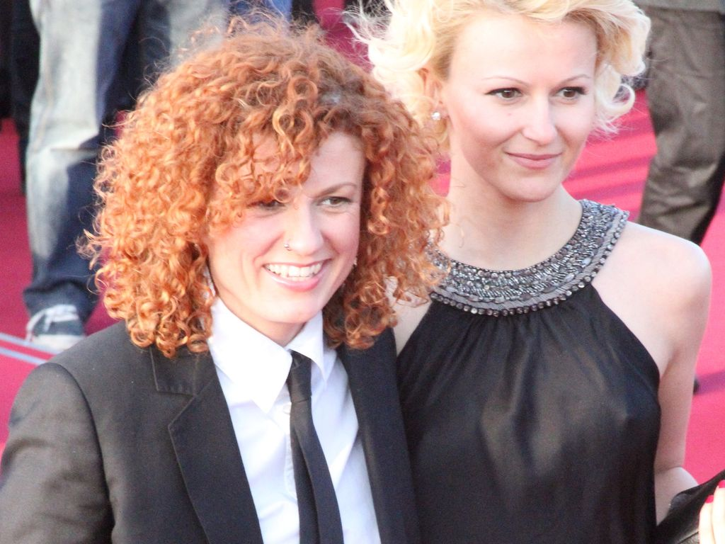Lucy Diakovska und Freundin Kamelia ganz schick