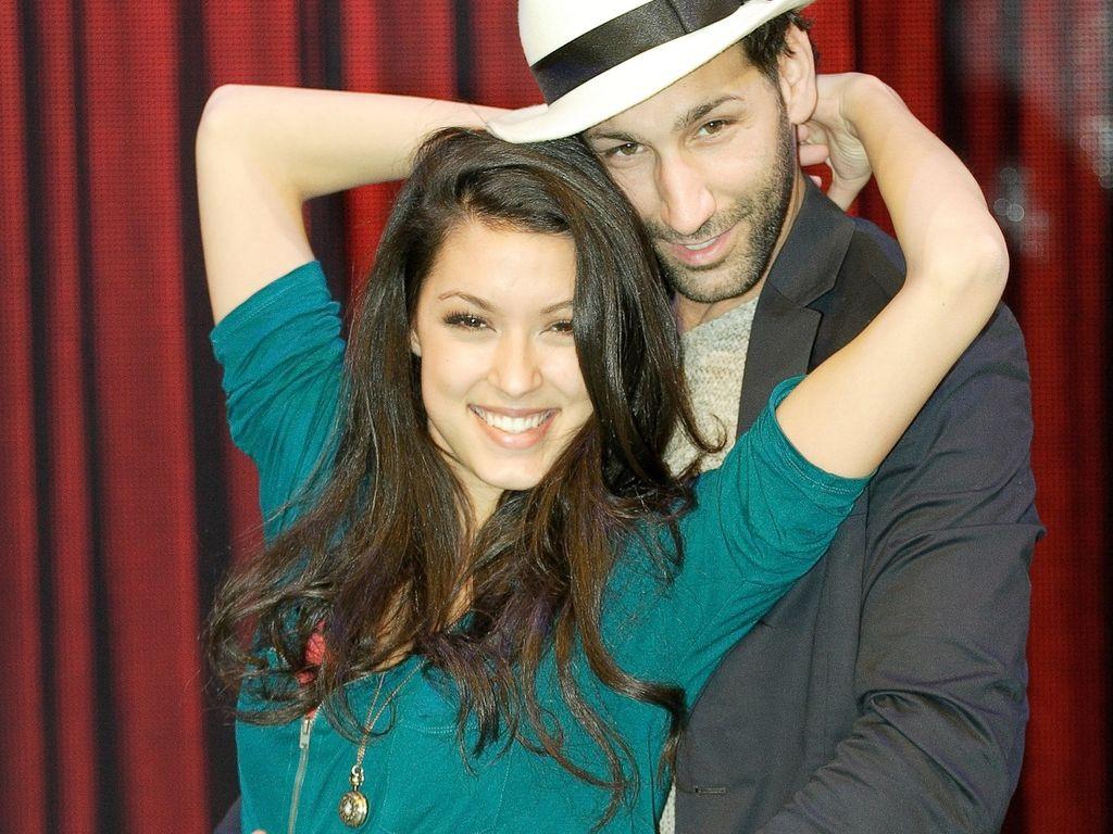 Rebecca Mir und Massimo posieren heiß