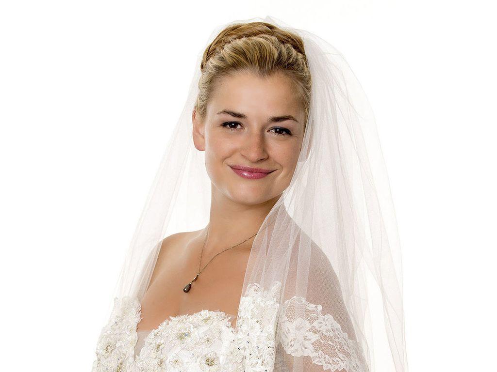 Sturm der Liebe: Ines Lutz im Brautkleid
