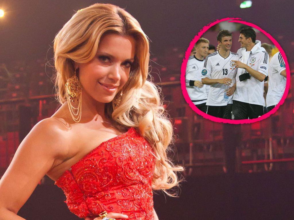 Sylvie van der Vaart und die deutschen Fußballer
