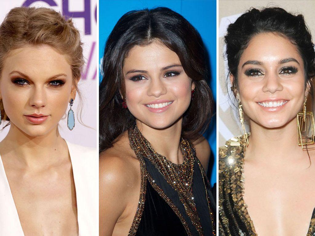 Taylor Swift, Selena Gomez und Vanessa Hudgens