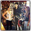 Auch ein Pappaufsteller von Michael Jackson ließ sich dort finden
