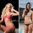 Die Bachelor-Girls präsentieren sich im Bikini