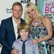 Brian Littrell kam mit Leighanne und seinem Sohn