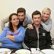 Igor, Ulrike, Jörg und Ania wollen ihre Kochkünste unter Beweis stellen