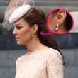 Herzogin Kate erschien beim Thron-Jubiläum der Queen mit funkelnden Diamant-Ohrringen