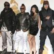 Die Black Eyed Peas traten während der Nominierungsshow auf