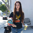 Lana Del Rey erschien jetzt im Harley Davidson Shirt