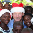 Prinz Harry verbreitete Weihnachtsstimmung