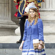 Prinzessin Beatrice entschied sich fr Blau