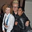 Lucy mit Ross und Jessica, die ebenfalls bei Popstars gecastet wurden
