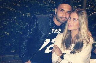 Silvia Amaru und ihr Freund Torek haben sich verlobt