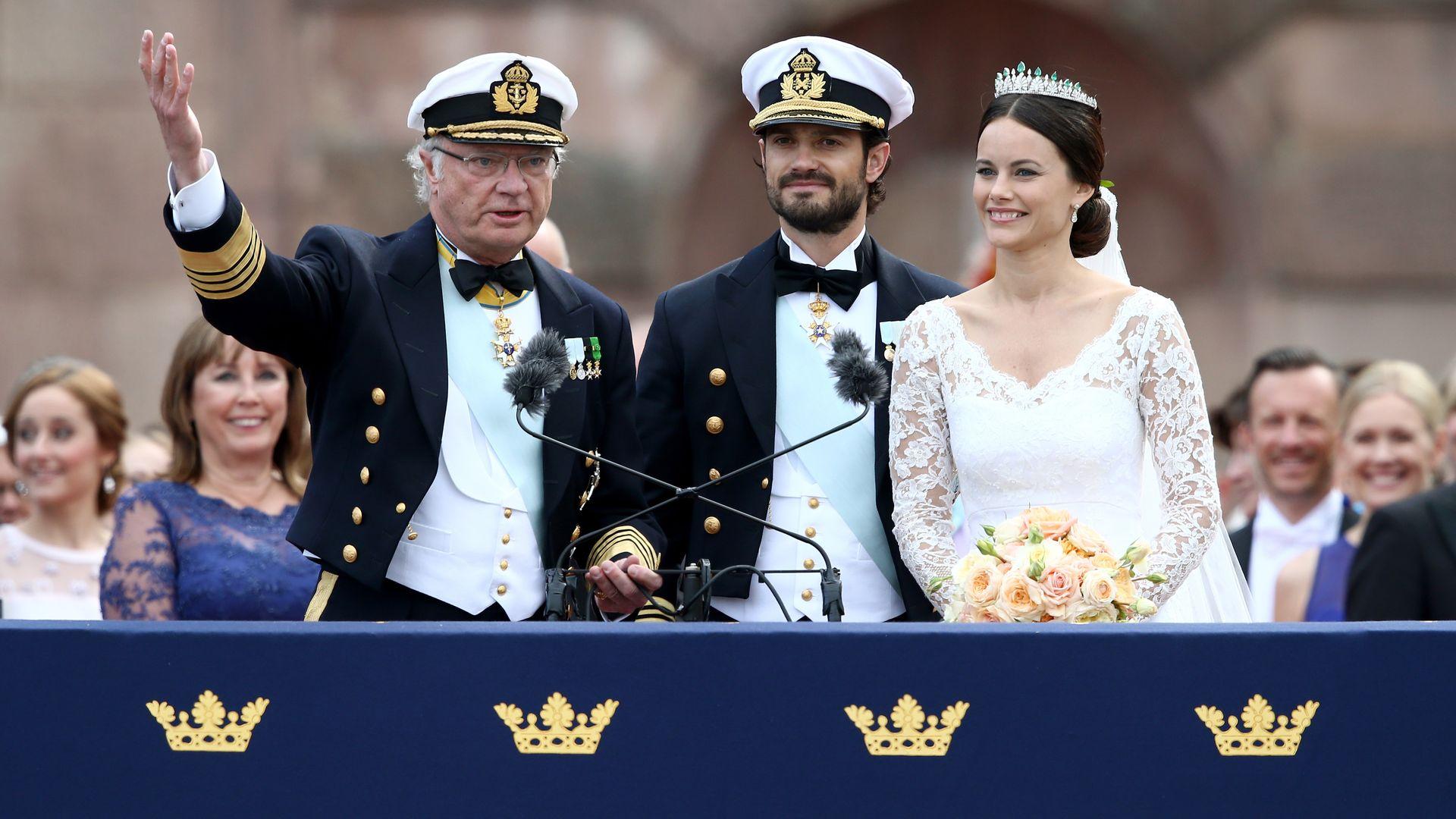 Официальные фото со свадьбы принцессы Мадлен и. - Сплетник 27