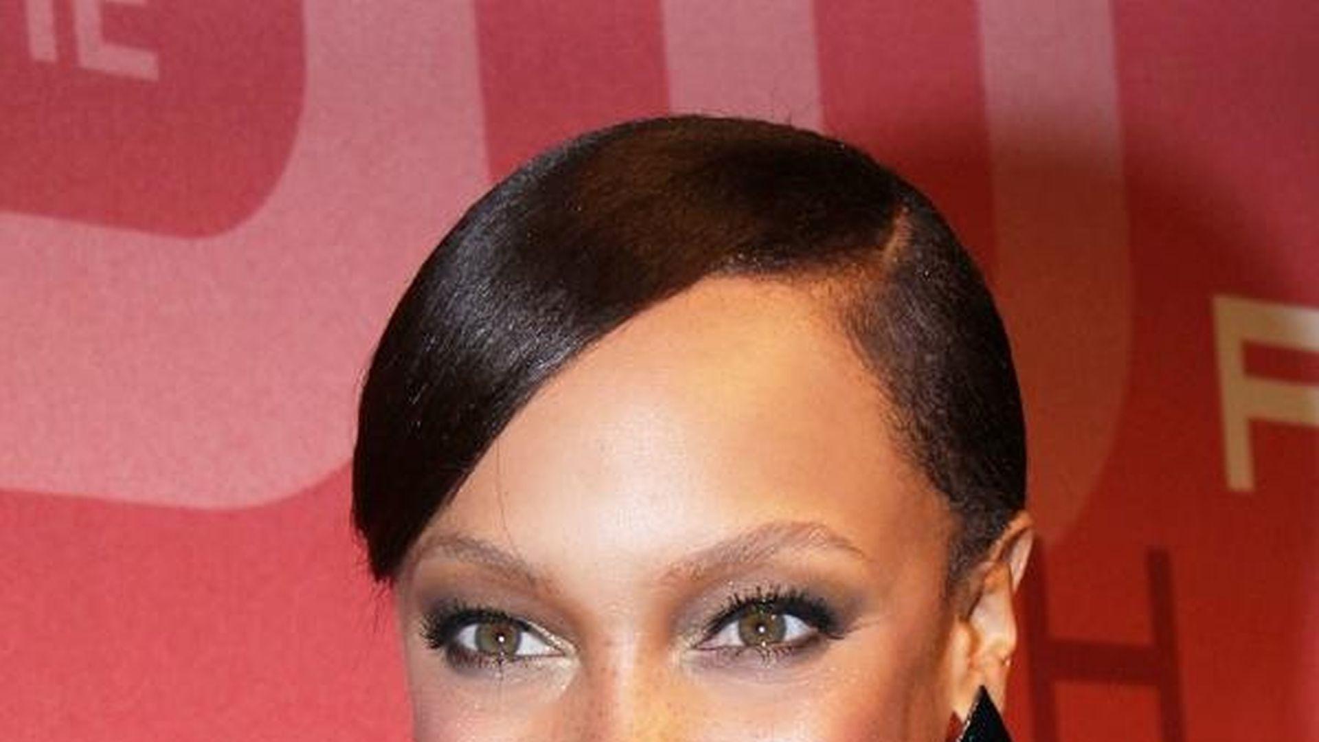Tyra Banks Sex sieht aus wie