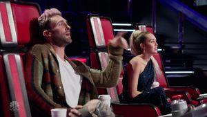 """Adam Levine und Miley Cyrus bei """"The Voice"""""""