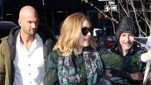 Adele und ihr Bodyguard Peter van der Veen