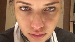 Adriana Lima sieht richtig fertig aus