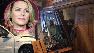 Autofahrer rast in Kim Cattralls Haus