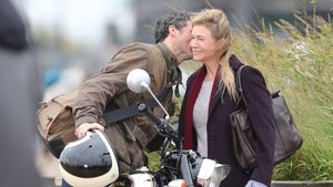 Bridget Jones Kuss am Set