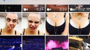 Cara Delevingne auf Taylor Swifts iPhone