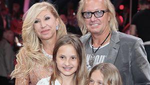 """Carmen und Robert Geiss mit den Kindern bei """"Let's Dance"""""""