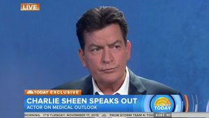 Charlie Sheen Today-Show