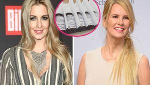 Charlotte Würdig und Monica Ivancan nehmen Plazenta-Pillen