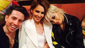 Cheryl Fernandez-Versini, Nicholas Grimshaw und Rita Ora