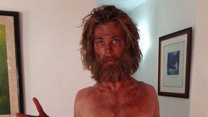 Chris Hemsworth im Strubbel-Look