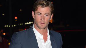 Chris Hemsworth unterwegs im Anzug