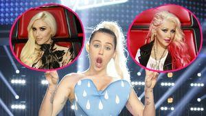 Collage: Miley, XTina und Gwen