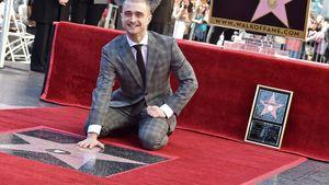 Daniel Radcliffe freut sich über seinen Stern