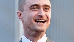Daniel Radcliffe freut sich