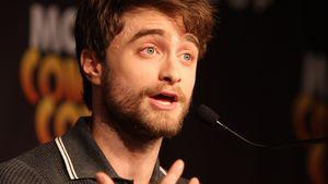 Daniel Radcliffe spricht angeregt