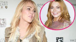Dina und Lindsay Lohan Collage