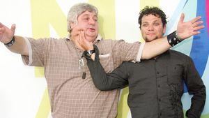 Don Vito und Bam Margera posieren frech