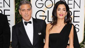 George Clooney und Amal Alamuddin bei den Golden Globes