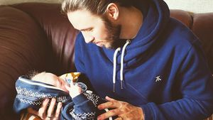 Gil Ofarim mit seinem Sohn