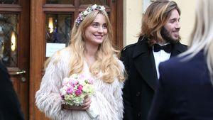 Gil Ofarim und seine Braut Verena Brock
